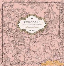 Coloring Book Minuet De Bonheur From JAPAN F S With Tracking Number Brand NEW