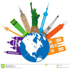 Places Clipart World Travel 3