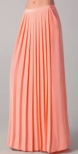 tibi maxi pleated skirt shopbop
