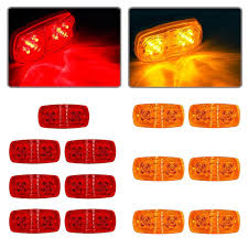 Buy Partsam 8x New Red 3 Led Clearance Side Marker Truck Trailer ... Buy 10 Pcs Tmh 25 Red Light Lens Super Flux Side Led 5x264146cl Amber Led Cab Roof Marker Running Lights Clear For Atomicdsobingcabmarkightsfordtruckamberlens Chicken Lightsmarker Lights Lets See Some Pics Of Em Page 2 Truck Marker Youtube 5xteardrop Yellow Top Clearance For Szhen Idun Photoelectric Technology Co Ltd Truck Bragan Specific Hand Polished Stainless Steel Under Bumper Low 12v 24v Lamp Car Trailer Shop 100 Waterproof Universal 2011 Ford F150 Fx4 Raptor Inspired Grille
