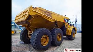 775006 CATERPILLAR 740 6x6 DUMPER ARTICULATED DUMP TRUCK 2007 C/W ...