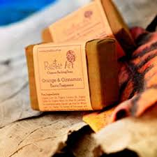 Rustic Art Orange Cinnamon Soap