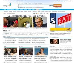 MSN The New MSN Homepage