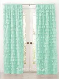 Mint Curtains For Nursery by Twill Light Blocking Curtain Panel Aqua 19 Liked On Polyvore