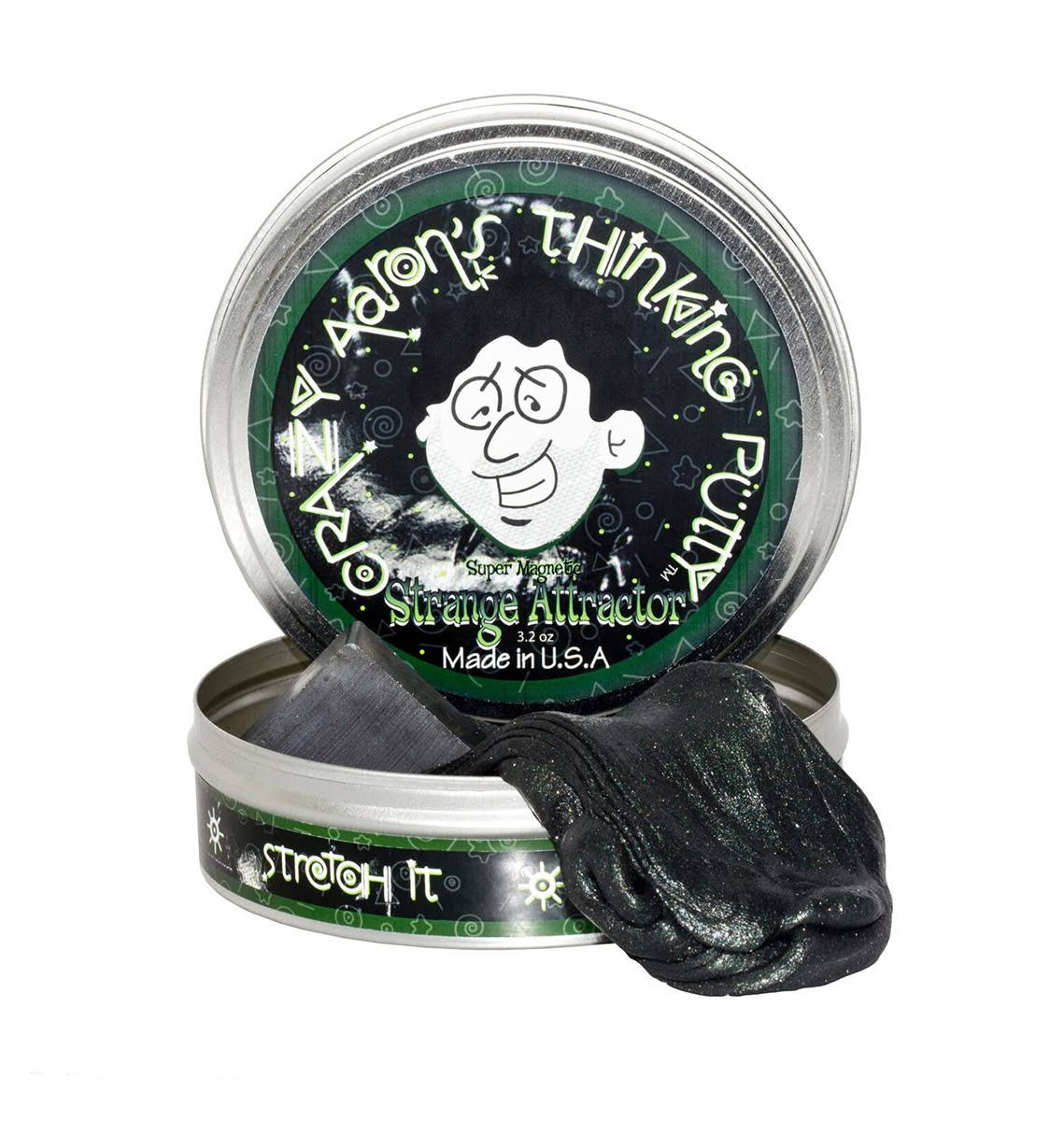 Crazy Aarons Thinking Putty Sculpting Toy - 3.2oz, Super Magnetic Strange Attractor