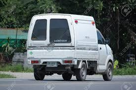 100 Suzuki Mini Truck CHIANGMAI THAILAND JULY 27 2016 Private Carry Stock