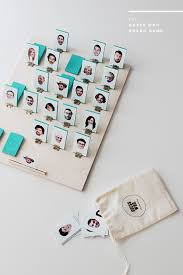 DIY Guess Who Game Via Almostmakesperfect