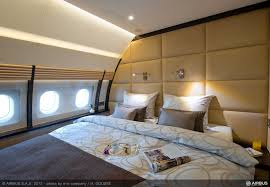 Private Jet With Bedroom