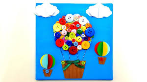 Air Balloon 3D Canvas Art Craft