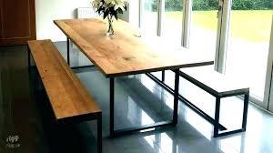 Long Narrow Dining Table Skinny Extra