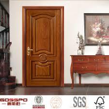 porte chambre bois porte d entrée intérieure principale d avant en bois solide de