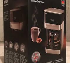New Braun BrewSense KF 7150 12 Cup Drip Coffee Maker