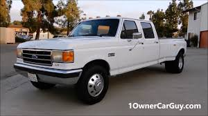1990 F350 Crew Cab Dually Pickup Truck For Sale - YouTube