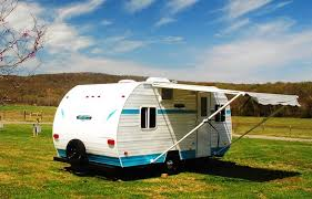 The Riverside RV Model 177 White Water Retro Shortly After Delivery
