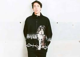 90s Clothing Mens Etirel Sweatshirt Blue Sweater Men Retro Tommy Hilfiger Black Crewneck Pullover S Vintage