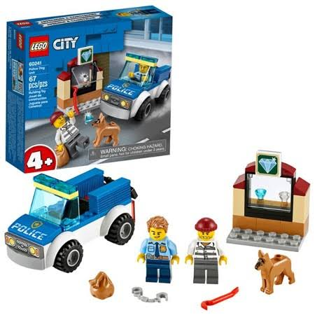 Lego City Police Dog Unit 60241 Building Kit