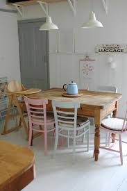 Shabby Chic Dining Room Table And Chairs by 207 Best Dining Room Images On Pinterest Kitchen Dining Room