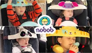 cale tete bebe pour siege auto nobob un système pour caler la tête des enfants en voiture le