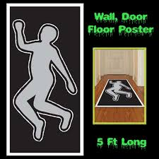 Halloween Scene Setter Rolls by Luau Scene Setter Aloha Door Cover Wall Poster Party Decoration