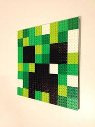 Pixel Letter LEGOR Wall Art W BACKGROUND Arcade Font Hanging Picture 8 Bit Mosaic Bedroom Game Room Decor Initial 80s Retro Video