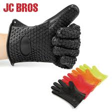 maniques cuisine 1 paire silicone résistant à la chaleur gants multifonction four