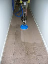 best way to clean high shine floor tiles