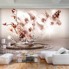 vlies fototapete orchidee blumen tapete 3d effekt tapete
