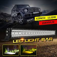 42inch 1120W LED LIGHT BAR LENS FLASH OFFROAD FOGLIGHT TRUCK BOAT ... 50 Inch 250w Led Light Bar Spotflood Combo 21400 Lumens Cree Cree 32inch 1632w Slim Led Dual Row Spot Flood Truck Boat Recon 60 Xtreme Scanning Tailgate 26416x Kc Hilites Gravity Pro6 Modular Expandable And Adjustable 42018 Gm 1500 Hidden 30inch Curved Grille China Whosale 144w 226 Inch Work 42015 Chevrolet Silverado Dualrow Zroadz Z332081 Front Roof Mounts Chevy Truck Led Lights Light Bar Strips 20 Double Series 200w Atv Off Redline Tricore Weatherproof Trophy With Archives My Trick Rc