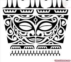 Tikki Maori Armband Tattoo Design