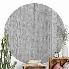 runde tapete selbstklebend betonoptik tapete mit streifen