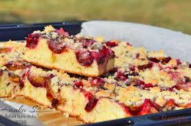 blitzschneller blechkuchen mit pflaumen oder mit beliebigem obst