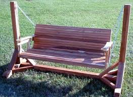 Wooden Porch Swing With Stand objectifsolidarite2017