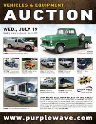 100 Car And Truck Auctions SOLD July 19 Vehicles And Equipment Auction PurpleWave Inc
