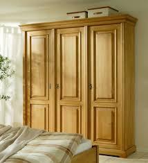 schrank kleiderschrank schlafzimmer fichte massiv antik gewachst 3 türig lanatura