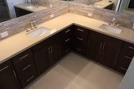 Diy L Shaped Bathroom Vanity by Emejing L Shaped Bathroom Vanity Contemporary Home Decorating