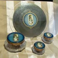 Celluloid Vanity Dresser Set by This Is A Beautiful 1930 U0027s 1940 U0027s Celluloid Vanity Dresser Set
