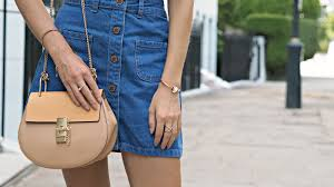 the denim mini skirt fashion mumblr