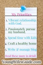 Click Here To Learn How Make Your Own Personal Priorities List So You Can Feel