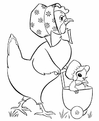 Free Printable Easter Coloring Pages Of Ducks Page