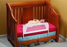 amazon com kidco convertible crib mesh bed rail white baby