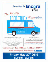 Food Truck Function – Encore Glass