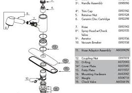 Glacier Bay Kitchen Faucet Manual by Artistic Glacier Bay Kitchen Faucet Parts Download On