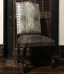 Crocodile Dining Chair | Tuscan Decor Dining Room In 2019 ...