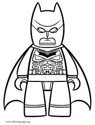 The Lego Movie Batman Coloring Page