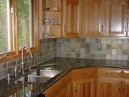 Kitchen Backsplash Designs With Oak Cabinets by Formidable Backsplash Tiles Pictures Concept Home U0026 Interior Design