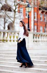 how to style a maxi skirt fashiongum com
