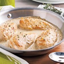 cuisine recette poulet poitrines de poulet crème d érable et moutarde recettes cuisine