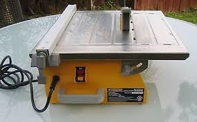 Workforce Tile Cutter Thd550 Manual by Workforce Tile Wet Saw For Sale Classifieds