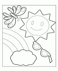 Summer Holiday Vacation Coloring Pages Summer Coloring Pages
