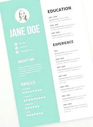 Free Graphic Design Resume Templates Best Template Ideas On Creative